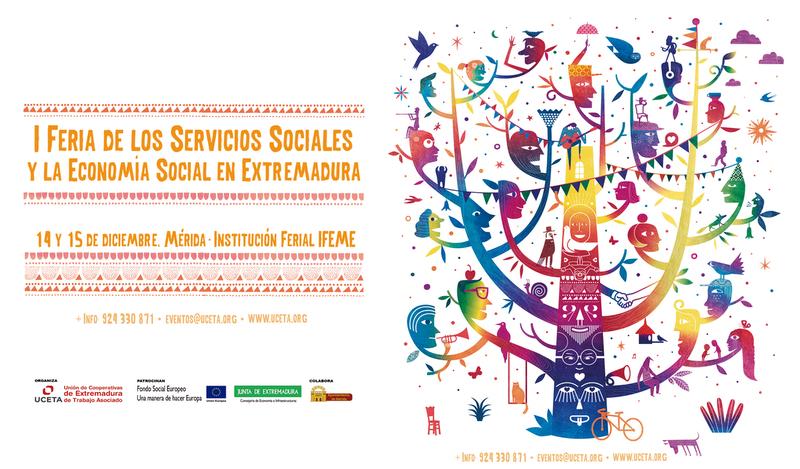 Mérida acoge la I Feria de los Servicios Sociales y Economía Social de Extremadura
