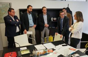 El Consorcio Promedio y el gobierno regional de Galicia intercambian experiencias de gestión pública supramunicipal del agua