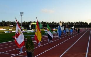 Inauguradas las pistas de atletismo del CAPEX en Villafranca de los Barros
