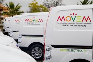 El Plan MOVEM de la Diputación aumenta un 422% el número de matriculaciones de vehículos eléctricos en Extremadura en 2018