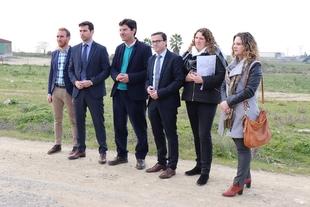 La Diputación apoya los proyectos de regadío de Villanueva del Fresno
