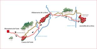 La comarca de La Vera acogerá la XXª edición de la Ruta del Emperador