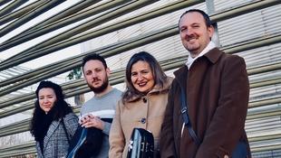 El cuarteto Amadè celebra el cumpleaños de Mozart con un concierto en la Diputación