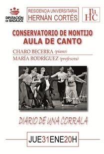 Recital lírico en la R.U. Hernán Cortés