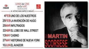 Comienza un nuevo ciclo de cine en la R.U. Hernán Cortés dedicado a Martín Scorsese