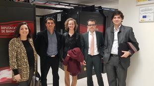 Encuentro entre la Diputación de Badajoz y Red.es
