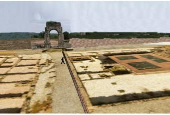 La Diputación aprueba el proyecto de Iluminación del Yacimiento Arqueológico de Cáparra