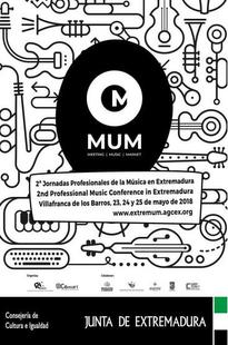 Abierta la convocatoria para presentar propuestas artísticas a las Jornadas Profesionales de la Música en Extremadura 2019