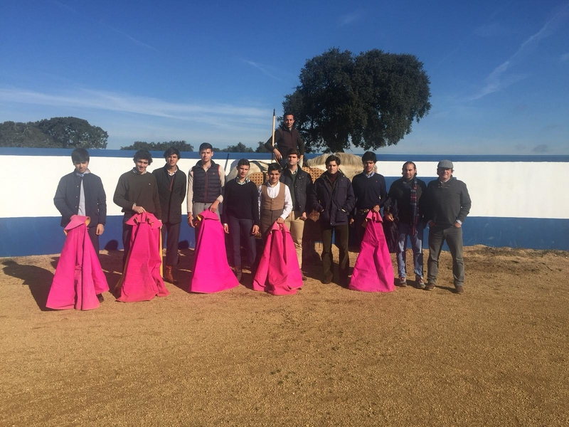 La Escuela Taurina participa en un tentadero en Portugal
