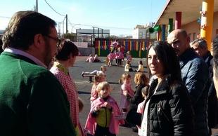 Educación invierte 287.000 euros en mejorar el colegio y el instituto de Aceuchal