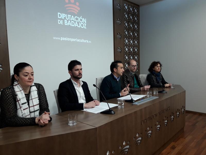 Cinco actividades se desarrollan este año gracias al convenio de la Diputación de Badajoz y la Federación Extremeña de Folklore