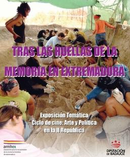 La exposición ''Tras las huellas de la Memoria Histórica'' puede visitarse en la Factoría Joven de Badajoz
