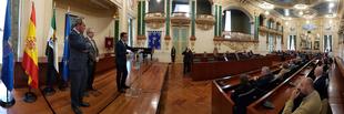 El presidente de la Diputación recibe a los miembros de la XI Reunión Anual de Fiscales Delegados de Medio Ambiente y Urbanismo