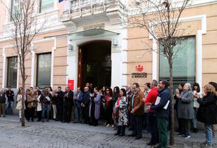 La Diputación de Badajoz se suma al aniversario del 11-M con un minuto de silencio