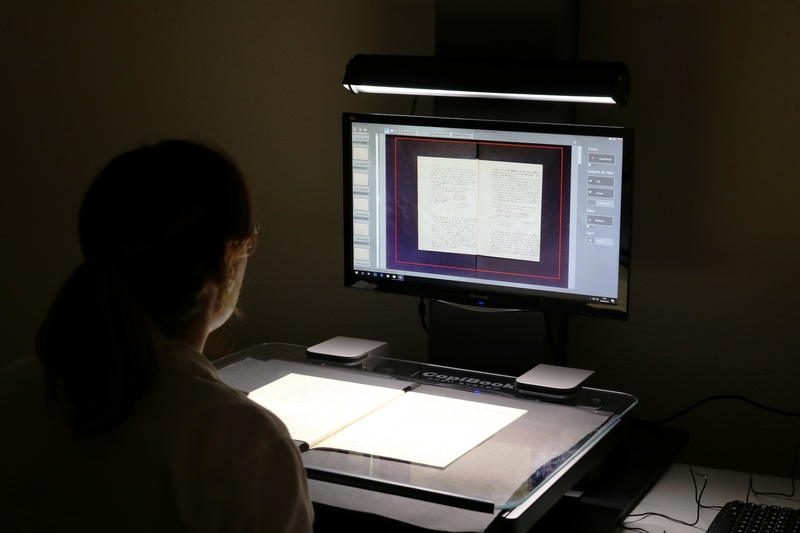 El Archivo Provincial digitaliza documentación del archivo municipal de Alconchel