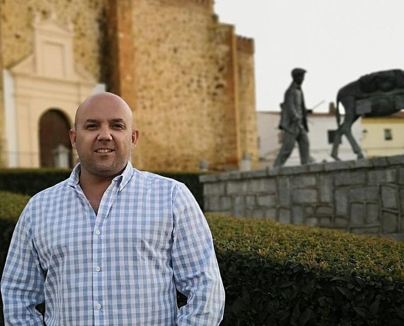 Joaquín Barrero candidato del PP a la Alcaldía de La Zarza