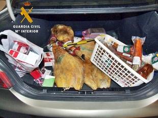 La Guardia Civil detiene a tres de los integrantes de un grupo criminal dedicados al robo en establecimientos públicos en Extremadura