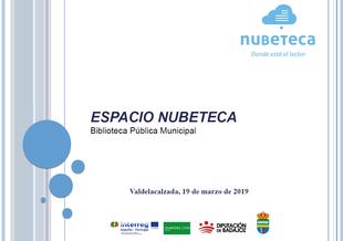 Entra en funcionamiento el noveno Espacio Nubeteca en la Biblioteca de Valdelacalzada