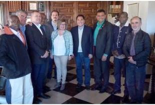 La Diputación favorece la cooperación Sur-Sur, en un encuentro entre dos delegaciones de Santo Tomé y Bolivia