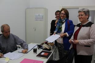 El PSOE provincial de Badajoz registra sus candidaturas al Congreso y al Senado