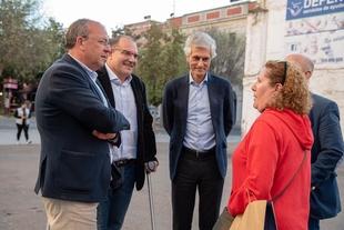 Monago afirma que Don Benito necesita un gobierno que brille con Ángel Valadés al frente