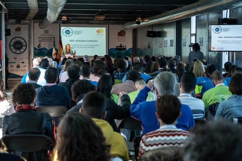 Las embarcaciones de la provincia de Cáceres han supuesto en 2018 unos ingresos de 2,3 millones de euros