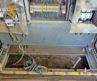 Investigados cuatro personas por el robo de cable de cobre en una cantera del municipio de la Parra