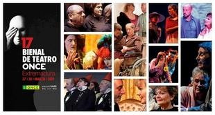 Presentación de la 17 Bienal de Teatro ONCE en el teatro López de Ayala