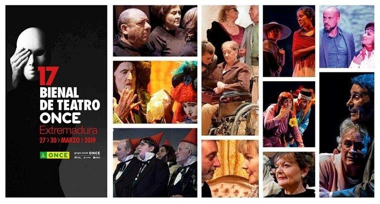 La 17 Bienal de Teatro de la ONCE se clausura el 30 de marzo con el montaje de