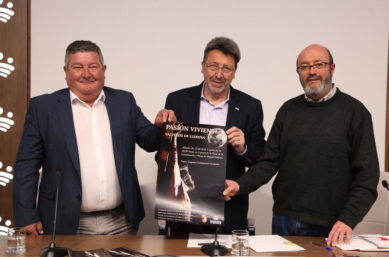 Valverde de Llerena estrenará este año la representación popular de 'La Pasión'
