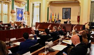 El pleno de la Diputación de Badajoz ratifica la declaración de la FEMP al cumplirse los 40 años de democracia local