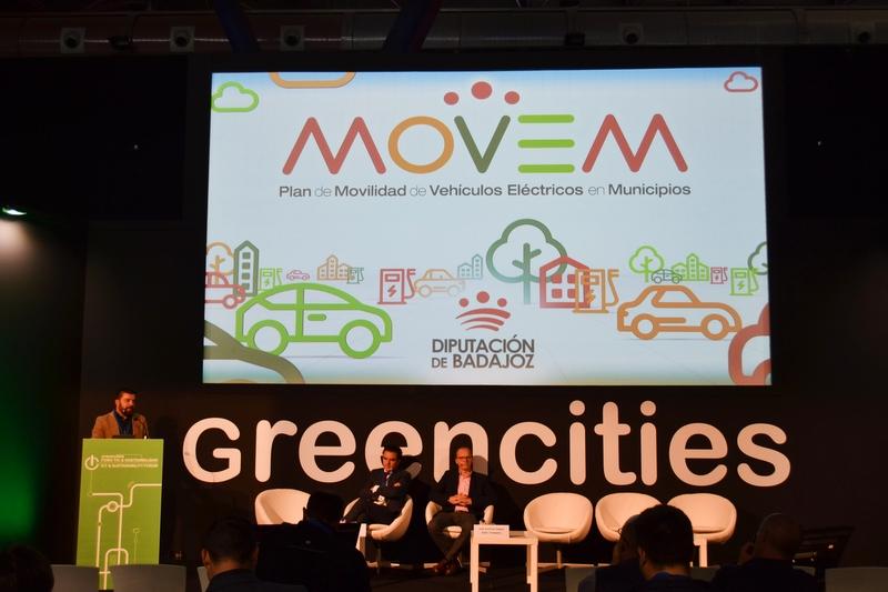 El Plan MOVEM, ejemplo de éxito en materia de movilidad sostenible durante el Foro Greencities de Málaga