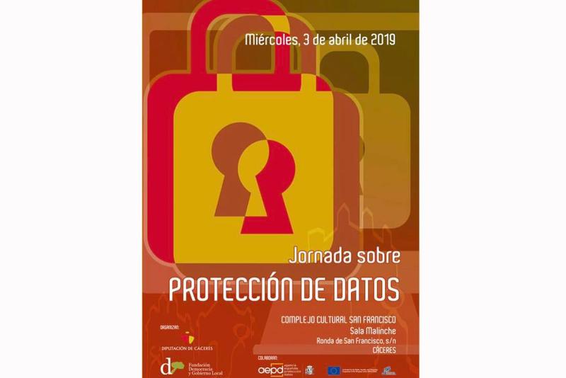 Diputación y la Fundación Democracia y Gobierno Local celebran mañana en Cáceres una jornada sobre Protección de Datos