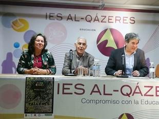 Educación destaca el valor artístico y pedagógico de la obra de Juan Rosco sobre la que el IES Al-Qázeres desarrolla un proyecto educativo