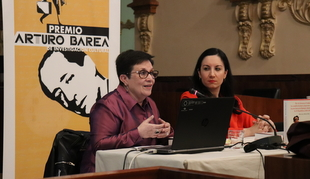 Hortensia Méndez presenta el Premio Arturo Barea 2017