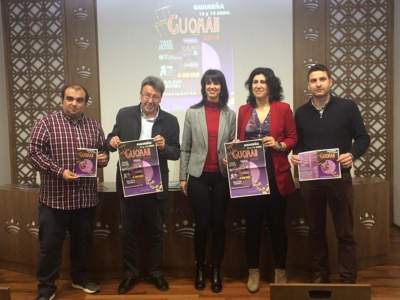 El 'Guoman' 2019 contará con el grupo 'Reincidentes' como colofón al festival