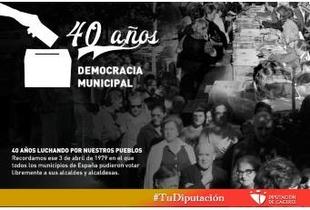 40 años de Democracia municipal, 40 años luchando por nuestros pueblos