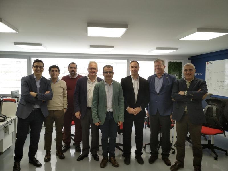 Las Diputaciones de Granada y Badajoz se reúnen para compartir impresiones sobre la transformación digital en ambas provincias