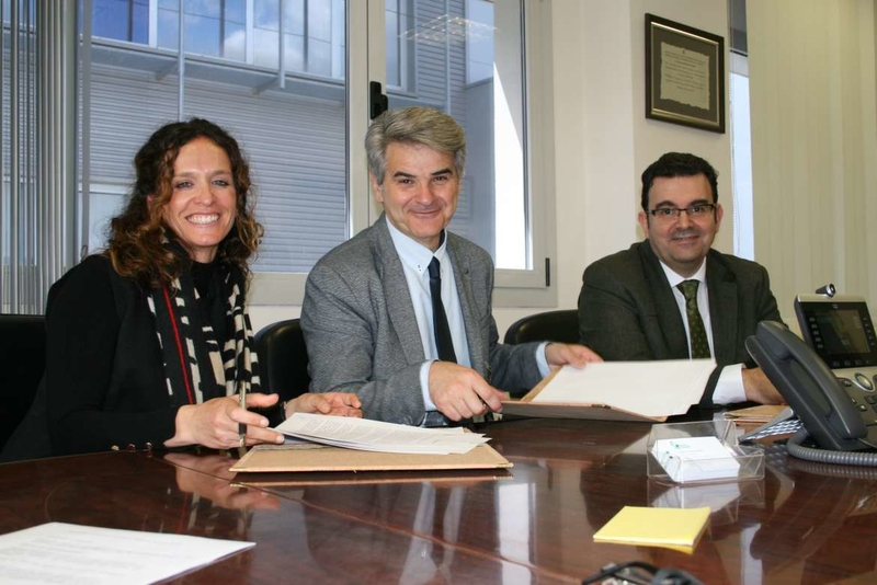 La Fundación José Manuel Calderón construirá un parque infantil en el Hospital Don Benito-Villanueva