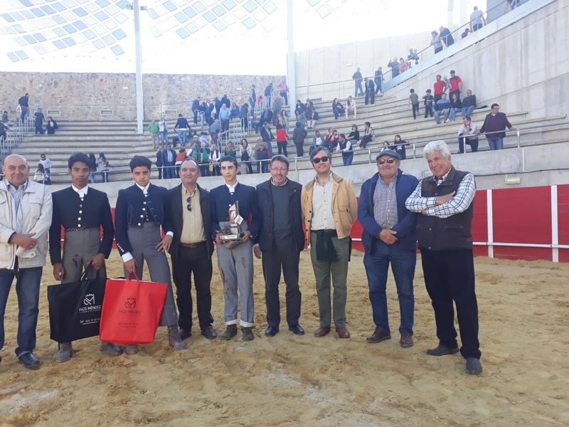 Alejandro Rivero, alumno de la Escuela Taurina, gana los certámenes de Candeleda y Ledesma