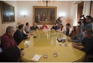Diputación y sindicatos firman el nuevo Acuerdo-Convenio tras su aprobación en Pleno