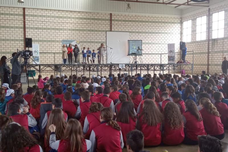 Más de 500 escolares participan en la I Bioconvivencia Reserva de la Biosfera Transfronteriza Tajo/Tejo Internacional