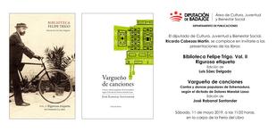 La Diputación presenta el segundo volumen de la Biblioteca Felipe Trigo en la Feria del Libro de Badajoz