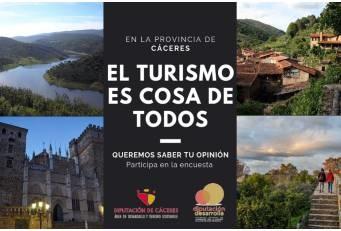 Una encuesta a la población local busca la participación ciudadana en el desarrollo del turismo sostenible