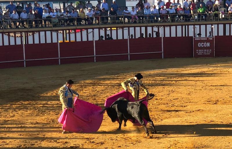 La Escuela Taurina de la Diputación de Badajoz participa en un tentadero en la ganadería de Alejandro Talavante