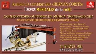 El Aula de Metales del Conservatorio Superior de Música