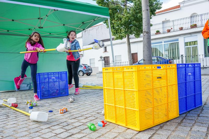 Guareña acoge la tercera edición de las Olimpiadas del Reciclaje de Promedio