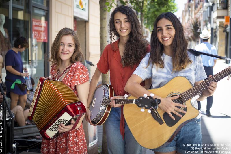 El grupo Agua abre el IX Festival Joven del XXXVI Festival Ibérico de Música con un concierto en Cheles