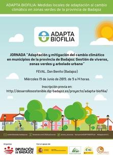 La Diputación de Badajoz apuesta por la adaptación y mitigación del cambio climático a través de la gestión de zonas verdes municipales