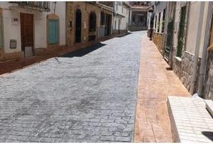 Finalizadas las obras de abastecimiento y pavimentación del Plan Activa en Casas de Miravete